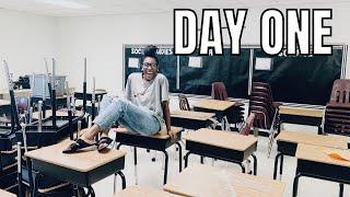 CLASSROOM SETUP DAY 1 | 2020-2021 | Elementary Teacher Vlog