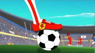 Supa Strikas - Season 1 - Ep 5 - Blasts from the Past (Part  2 of 2) - Soccer Adventure Series
