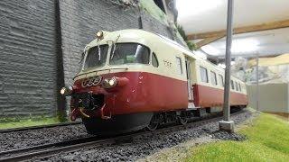 preview picture of video 'Modellbahn in Brugg - Die Anlage des BMC - Spur 0 Anlage - XXL'