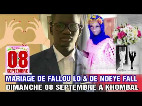Moussa Sall Acteur : Un Mariage