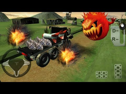 ► Bomb Transport 3D (GT Action Games) Car Transporter Simulator Android Gameplay