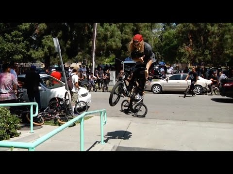BMX - MASSIVE EAST LA STREET RIDE