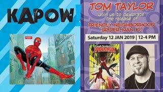 Tom Taylor interview Friendly Neighborhood Spider-Man