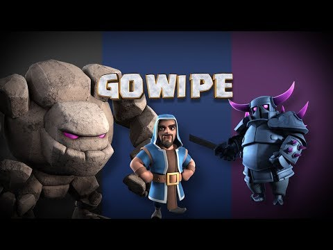 Clash of Clans: The GoWiPE Battle Strategy!