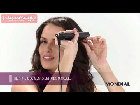 Prancha Modeladora Shine Black Ion 40W Bivolt - Video