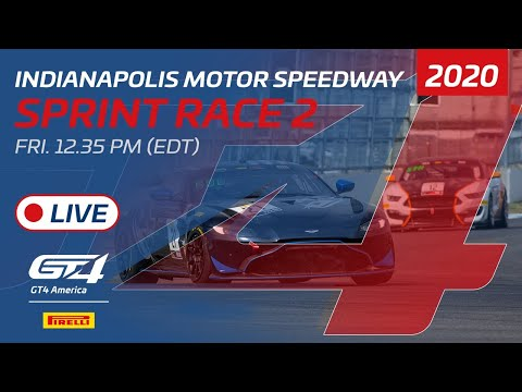2020年 ブランパンGTワールドチャレンジ・アメリカ(インディアナポリス)GT4 レース1ライブ配信動画