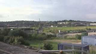 preview picture of video 'Rochester to Strood, views over the Medway from a Javelin, Kent, England - 3rd June, 2014'