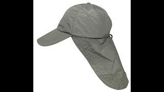 Шляпа для рыбалки с защитой шеи