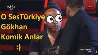 Gökhan Komik Anlar   O Ses Türkiye 2017-2018 Gökhan Komik Anları Vtr Video