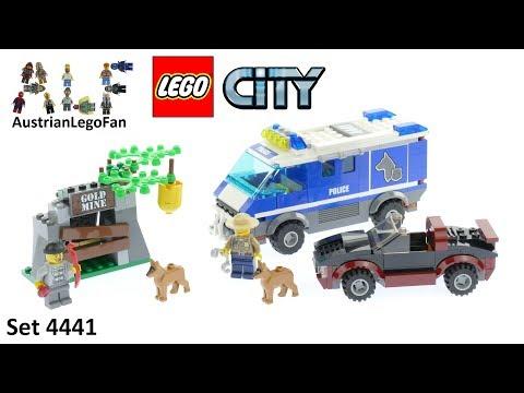 Vidéo LEGO City 4441 : Le fourgon du chien de police