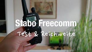 Stabo Freecomm 700 PMR Funkgeräte (Test & Reichweite)