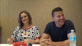 Comic Con 2016 | 'Bones' Q&A w/ David Boreanaz & Emily Deschanel (22.07.16)
