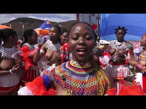 Umkhosi WoMhlanga (07/09/19) Reed Dance.