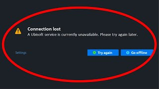 """How To Fix UPLAY  """"A Ubisoft Service is Currently Unavailable. Please Try Again Later """" Error"""