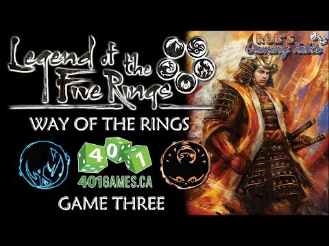 Legend of the Five Rings – Way of the Rings @ 401 Games #3