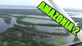 Amazonia vlog2 - Delfíni,pralesy,východ slunce, hydroplán, Londýn