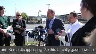 Mount Gambier Prime Market Review with Prime Minister Tony Abbott - 11th March 2015