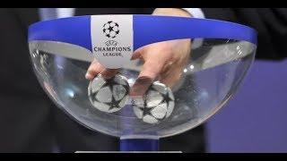 Футбол Лига Чемпионов 2017/18. Результаты жеребьёвки 1/4 финала и расписание матчей