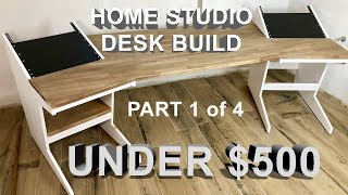 danyella building an electronic music studio studiodesk herman