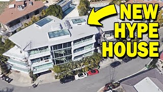 The *NEW* HYPE HOUSE in GOOGLE MAPS! (address exposed)