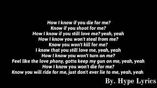 Lil Durk Ft. Lil Baby   How I Know (Lyrics)