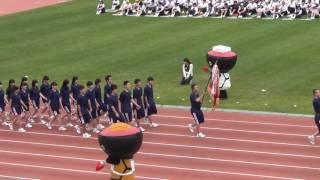 2016.5.24岩手県高等学校総合体育大会総合開会式入場行進②