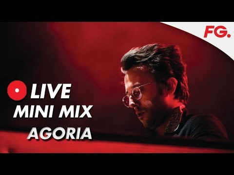 """AGORIA   LIVE MIX & INTERVIEW   """"You're Not Alone""""   RADIO FG"""