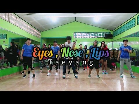 Taeyang - 눈코입 (Eyes nose lips) | ZUMBA | COOLDOWN | FITNESS | 2019 At RAD STUDIO PPU