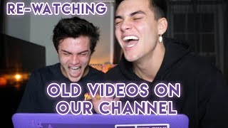 Re-Watching Old Videos On Our Channel !
