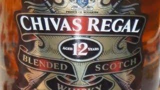 Whisky Chivas Regal 12 Años con Eddy Warman