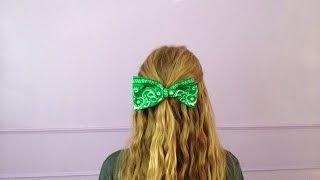 Make a Cute Bandana Hair Bow - Style - Guidecentral