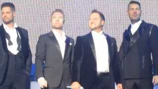 Boyzone Nothing Without You Brighton 18th Dec 2013 BZ20
