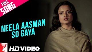 Neela Aasman So Gaya (Female) - Full Song HD | Silsila
