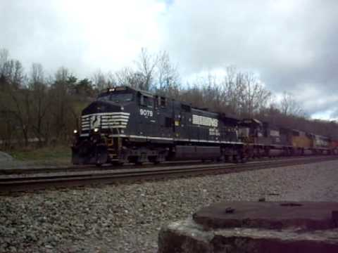 Norfolk Southern 22A with UP and BNSF Executive Paint