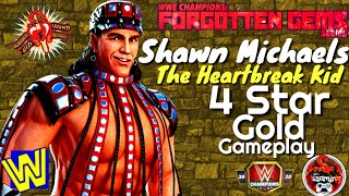 Forgotten Gems Series Shawn Michaels The Heartbreak Kid 4-Star Gold Gameplay / WWE Champions