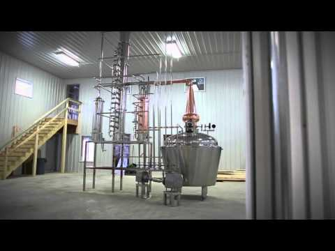 Continuous Stripping Distillation System