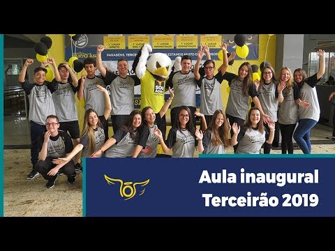 Aula inaugural Terceirão 2019