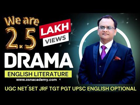 Unit-1 DRAMA - UGC NET COACHING - OSN ACADEMY