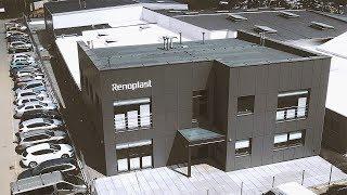 Renoplast - producent aluminiowych profili okapowych na balkony i tarasy