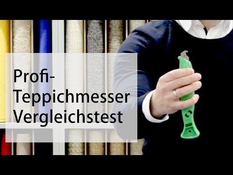 Profi Teppichmesser zum Teppichboden verlegen im Test - Teppichscheune.de