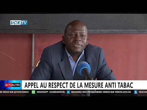 Appel au respect de la mesure anti-tabac Appel au respect de la mesure anti-tabac
