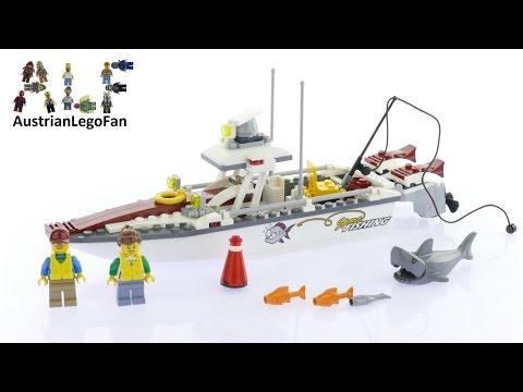Vidéo LEGO City 60147 : Le bateau de pêche