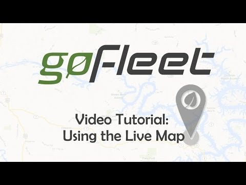 Using The Live Map In My.Geotab