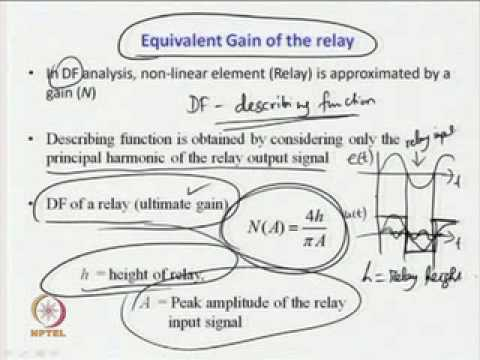 Relay control system for identification