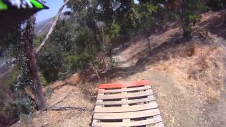 preview picture of video 'Raimondo Palermo gravity crew ad Agrigento Giunone dh trail'