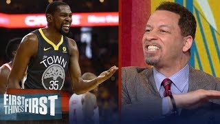 Chris Broussard blames Kevin Durant for failing Warriors in Rockets