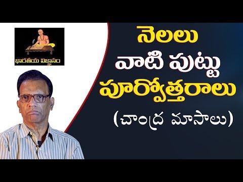 చాంద్రమాసాలు వాటి పుట్టు పూర్వోత్తరాలు    SHIVASHAKTHI    RSN MURTHY    BHARATEEYA VIGNANAM-3   