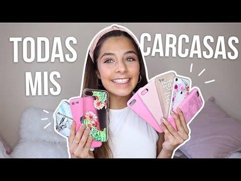 MI COLECCIÓN DE FUNDAS/CARCASAS 2018!  feat MOMO CASE | Valentina Gonzzz