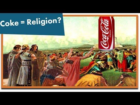Onko Coca-Cola uskonto?