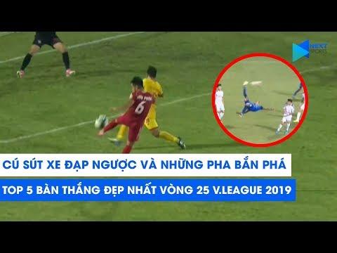 Tiến Linh, Hoàng Đức lập siêu phẩm, thầy Park mừng thầm | Top 5 bàn thắng đẹp vòng 25 V.League 2019